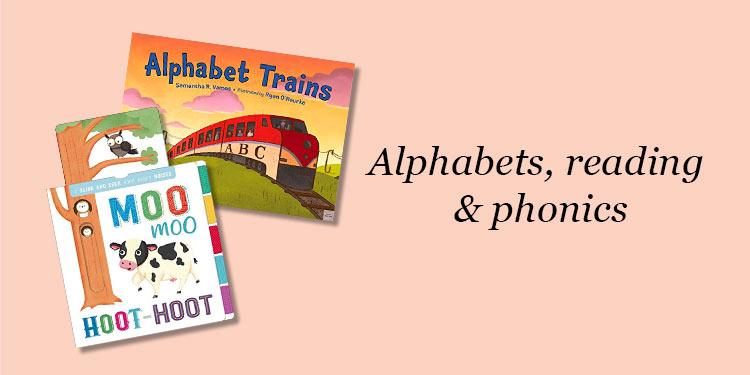 Alphabets, reading & phonics