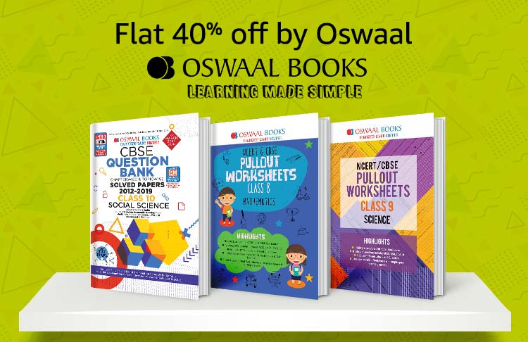 Flat 40% off by OSWAAL