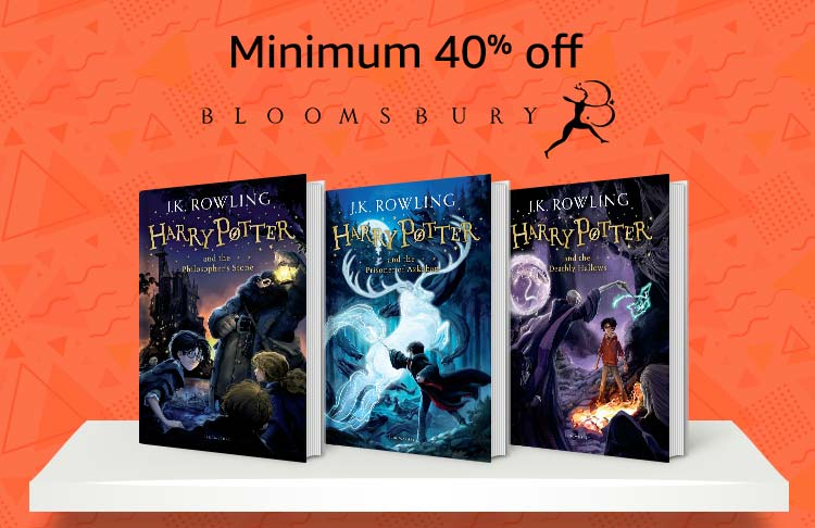 Minimum 40% off by Bloomsbury publication