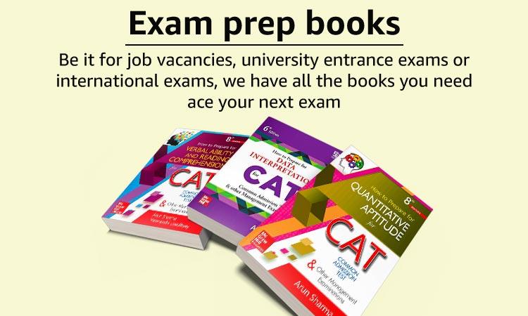 Exam preparation books