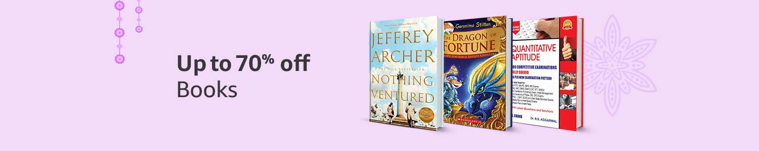 Up to 70% off: Books