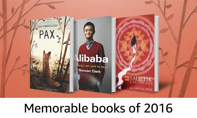 Memorable books of 2016