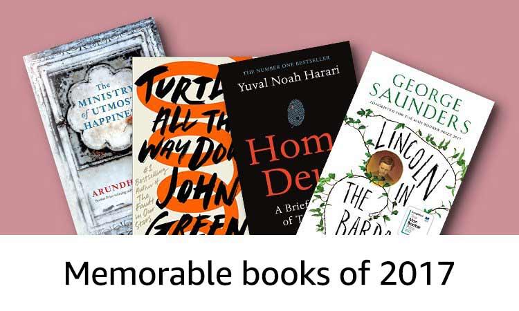 Memorable books of 2017