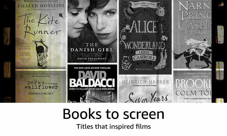 Books To Screen Titles that inspired films