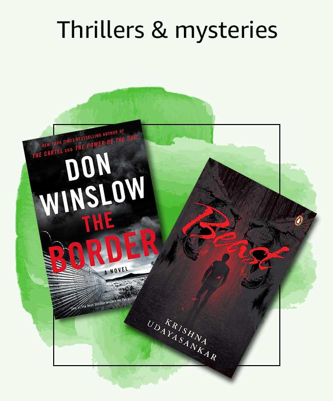 Thrillers & mysteries
