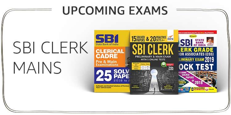 SBI CLERK MAINS