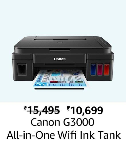 Canon G3000 All-in-One Wireless Ink Tank