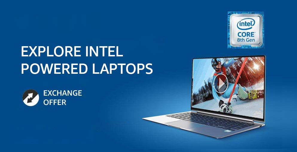 Intel powered laptops