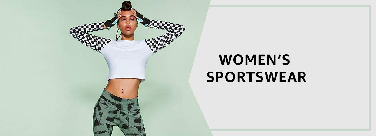 d4a6ebddd Amazon.in  Women s Sportswear Store