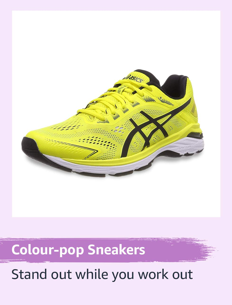Colour pop sneakers