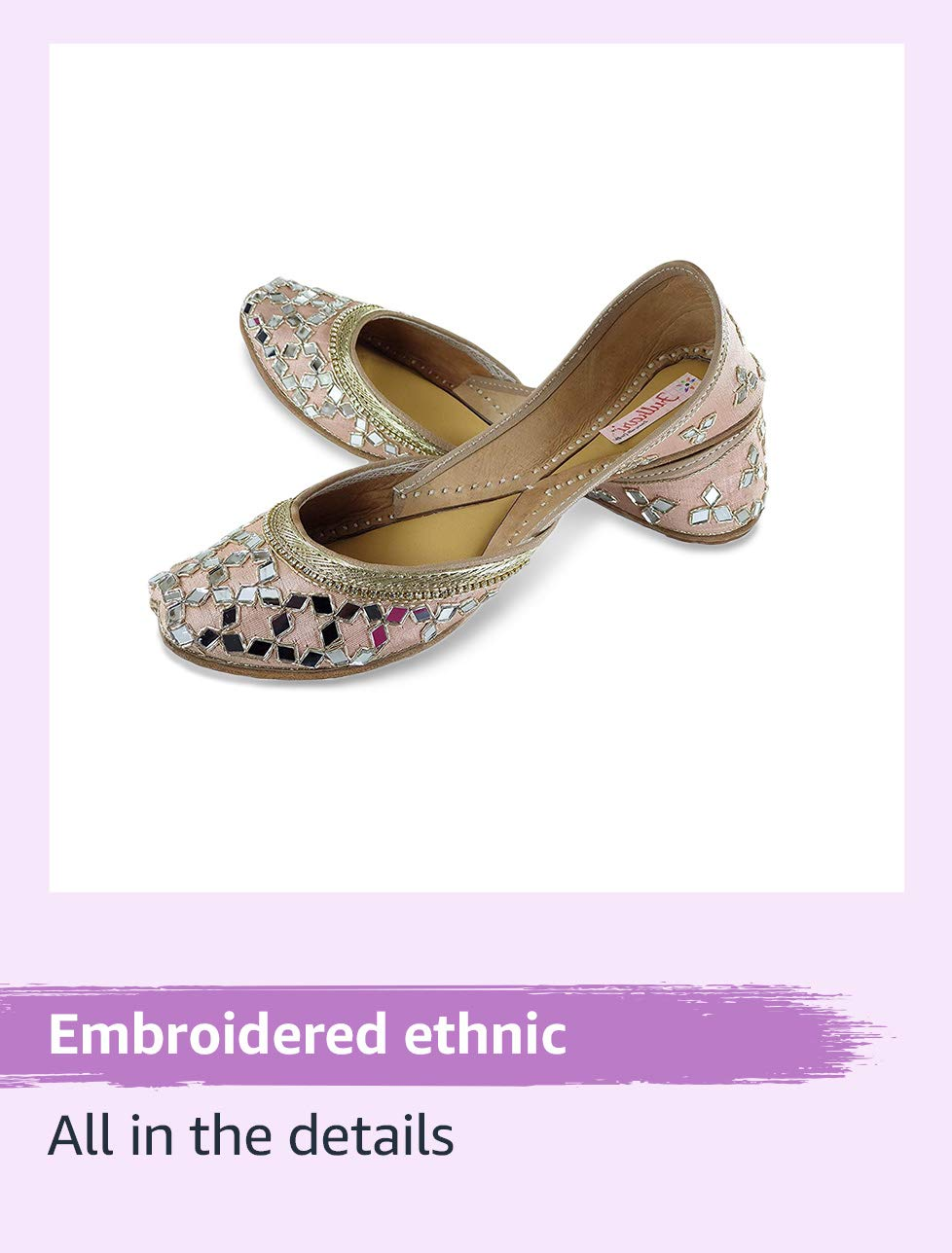 Embroidered ethnic