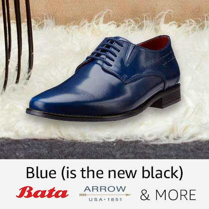 b0f7bedf79 Sneaker-soled formal shoes · Blue ( is the new Black ) · Textured leather