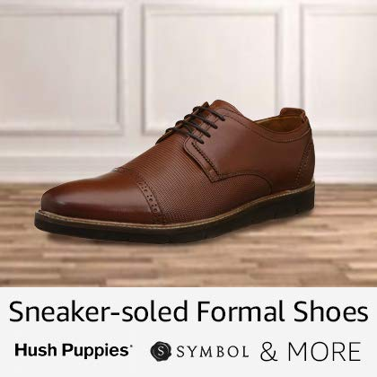 Sneaker-soled formal shoes