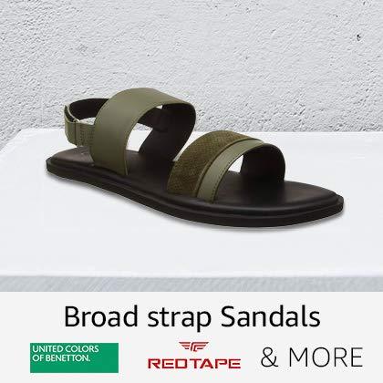 Broad Strap Sandals