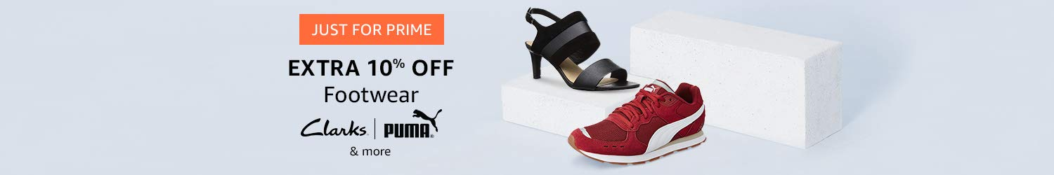 Extra 10% off Shoes for prime members