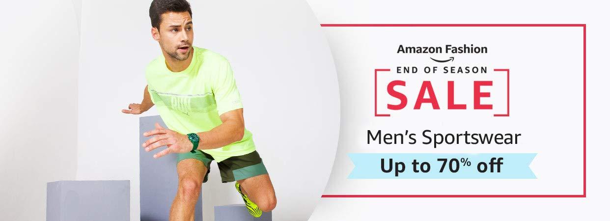 Men's sports shoes & apparel