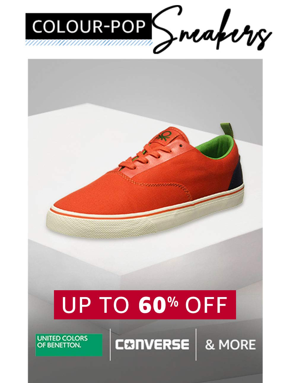 Color Pop Sneakers