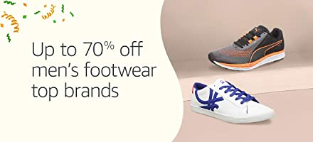 Up to 70% off men's footwear