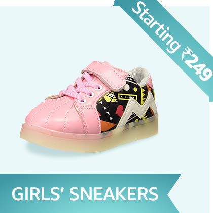 Girls' Sneakers Starting Rs. 249