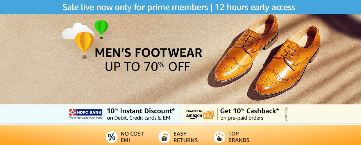 Up To 70% Off Men's Shoes