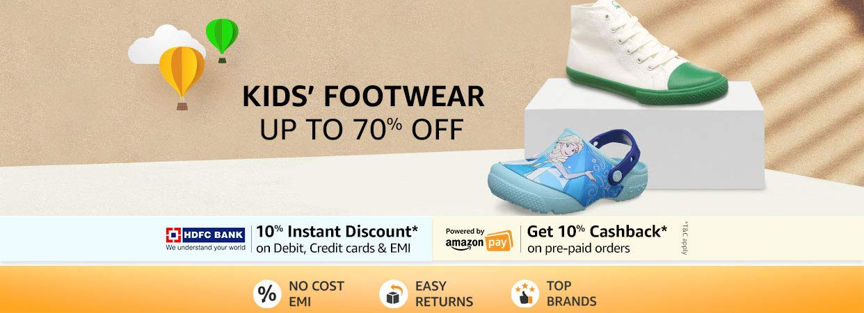 Kids Shoes   Up To 70% off