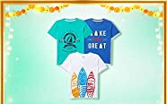 Amazon Offers Today-Coupons-Promo Codes - Kids Fashion starting at just ₹299
