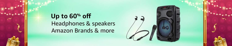 Headphone & speakers