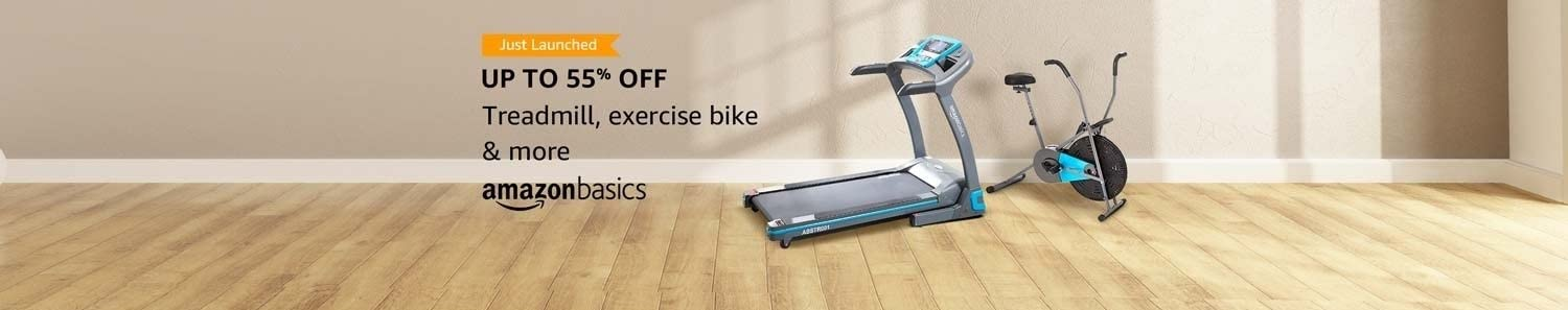 AmazonBasics Cardio Equipment