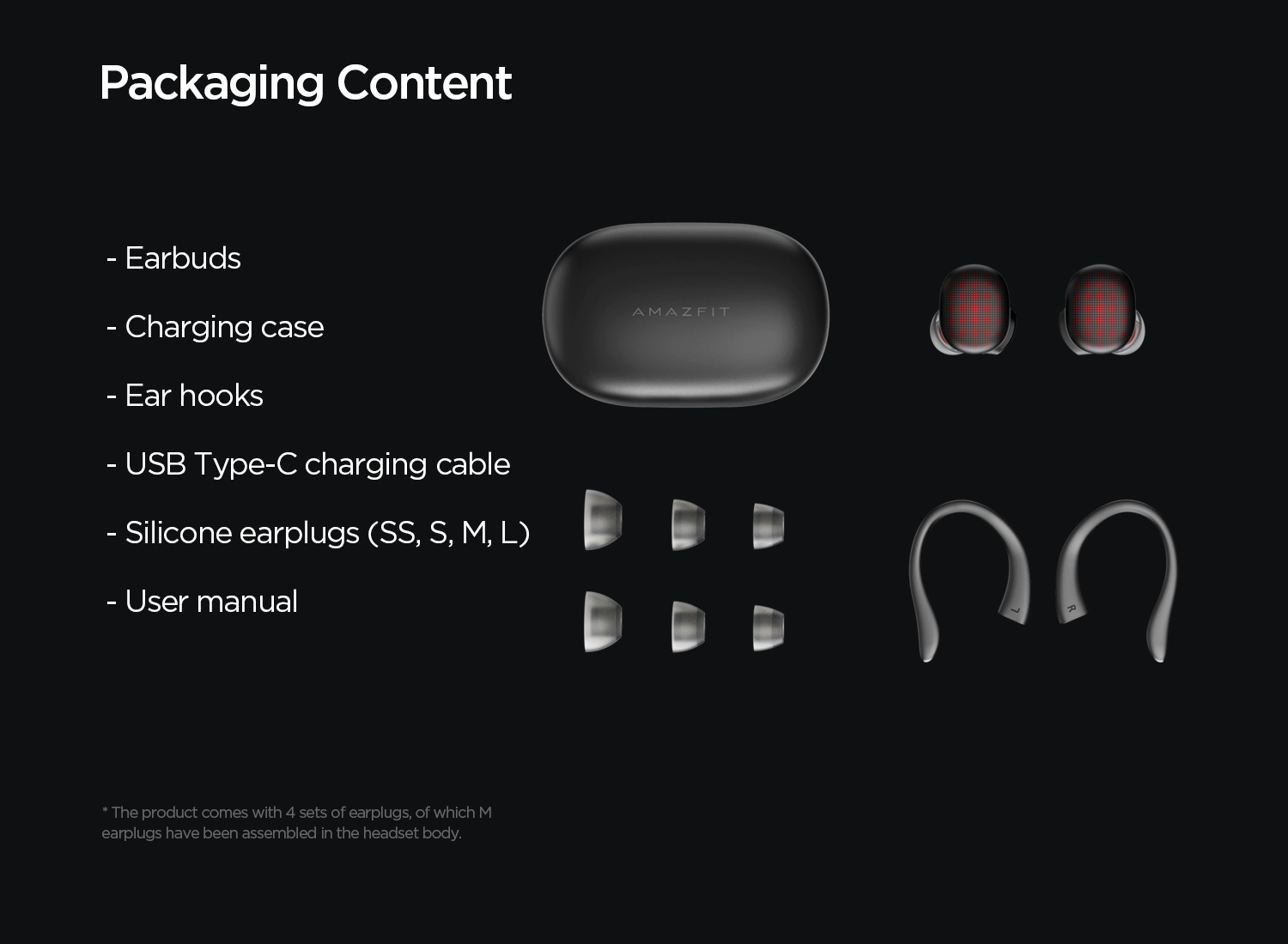 packaging content
