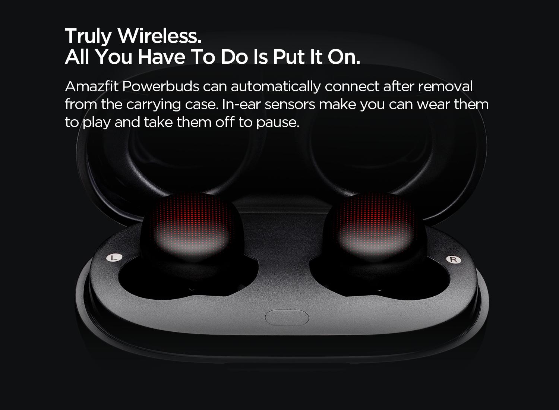 Truly wireless