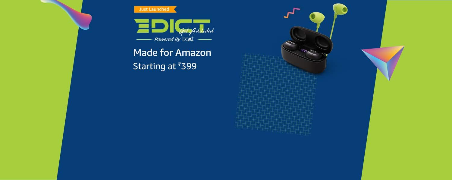 Amazon Latest Offers & Discount Codes - Edict Electronic Accessories starting at just ₹399