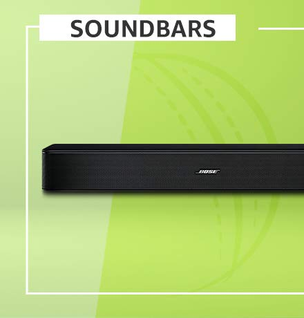 Home theater systems & sound bars