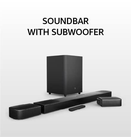 Soundbar with Subwoofer