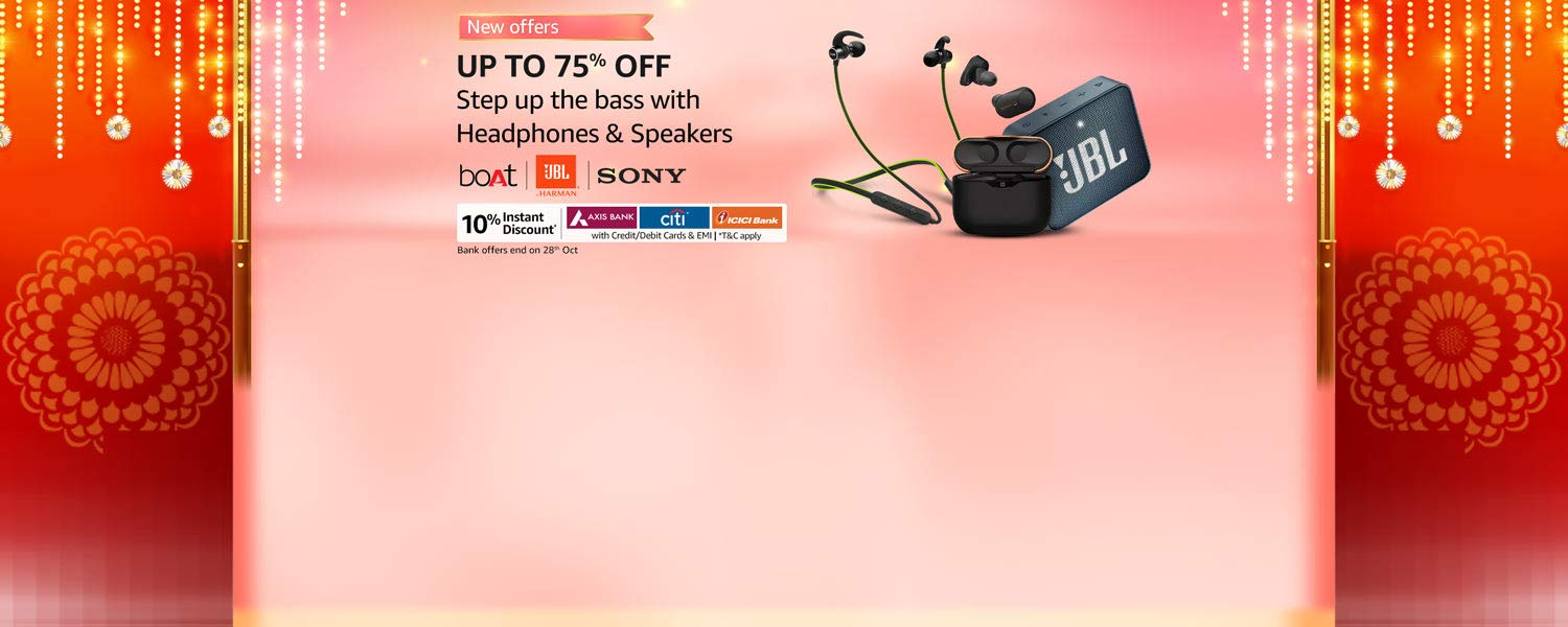 amazon.in - Avail Upto 75% OFF