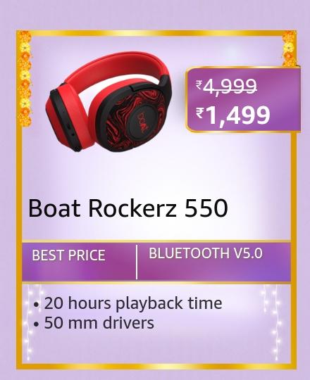 Boat Rockerz 550