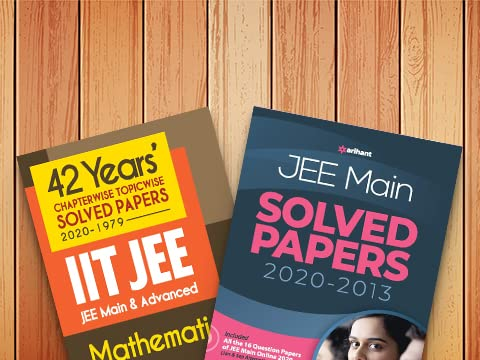 JEE solved papers & more