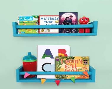 Children's bookshelf | February