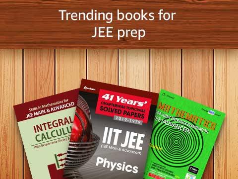 Trending books for JEE prep