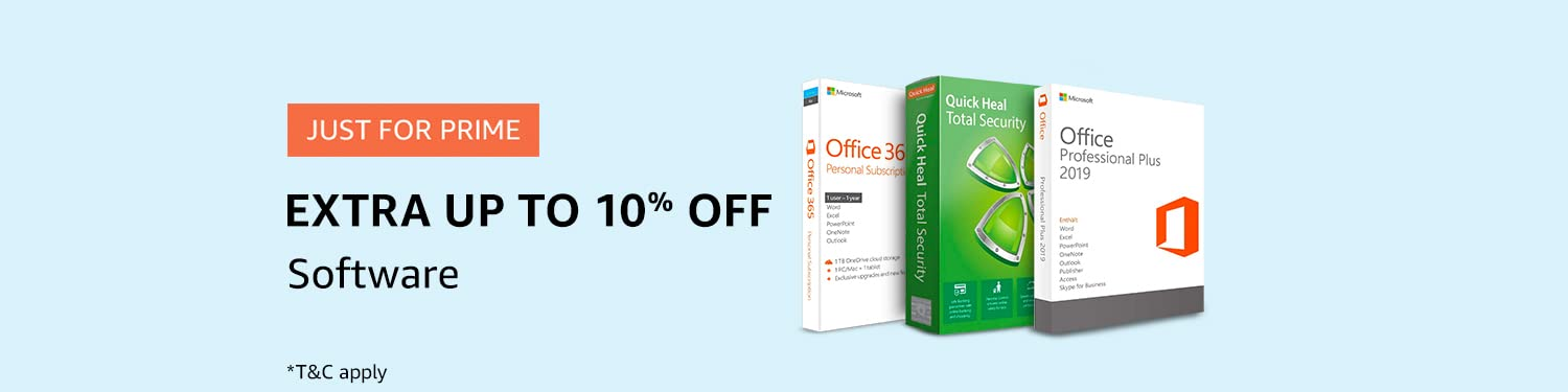 Extra Up to 10% off on Software