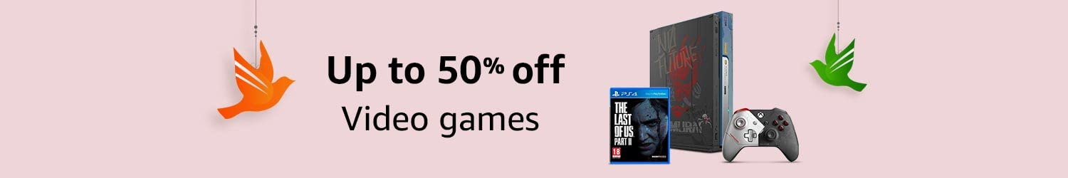 Video games | Up to 50% off
