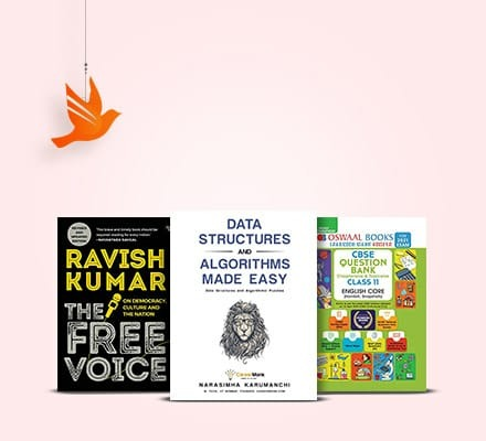 Buy 3 or more books, get extra 7% off