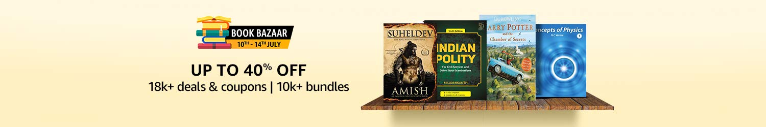 Book Bazaar | Up to 40% off on Books