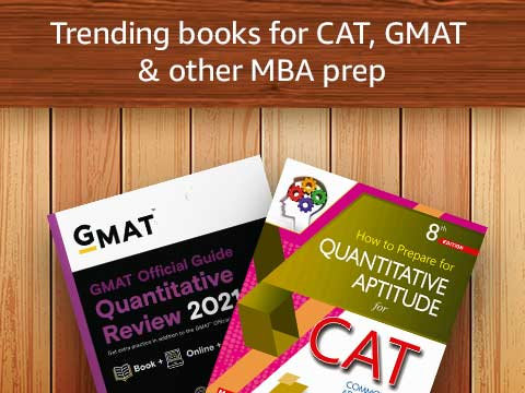 Trending books for CAT, GMAT & other MBA prep