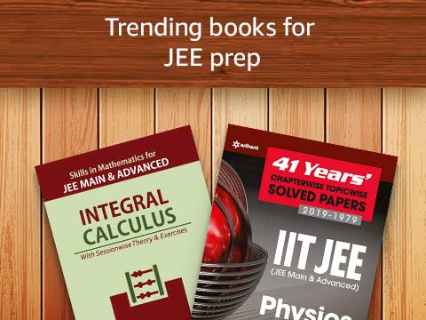 Trending books for JEE prep
