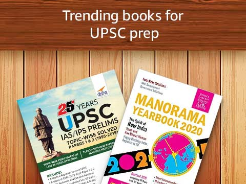 Trending books for UPSC prep