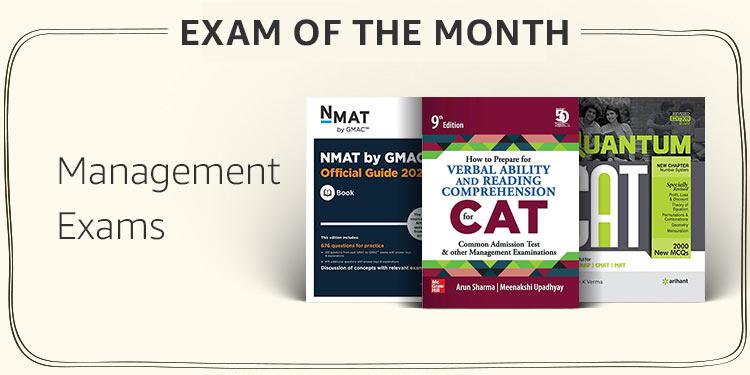 Management Exams (CAT, GMAT, MAT etc.)