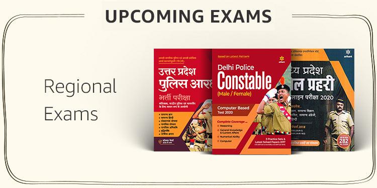 Regional Exams (Delhi Constable,  etc.)