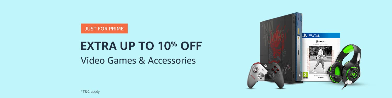 Extra up to 10% off | Videogames & accessories