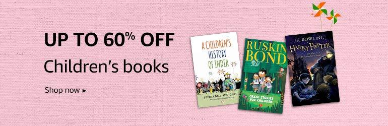 Up to 60% off on Children books