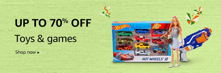 Up to 60% off on Toys & games